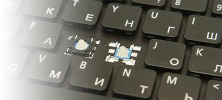 Восстановление кнопок клавиатуры